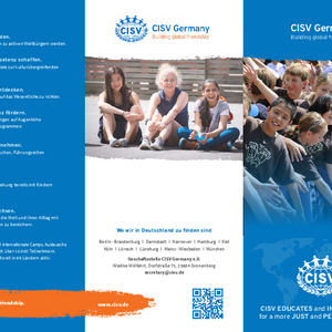 Flyer CISV Germany