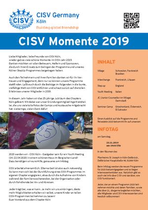 CISV Momente