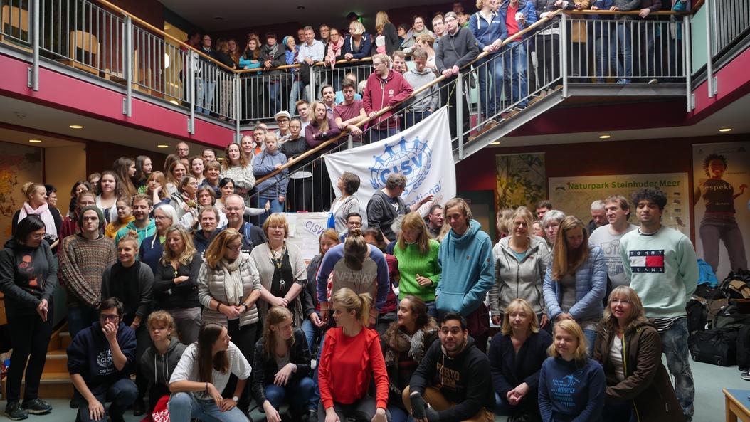 Teilnehmende der nationalen Herbsttagung 2018 in Hannover