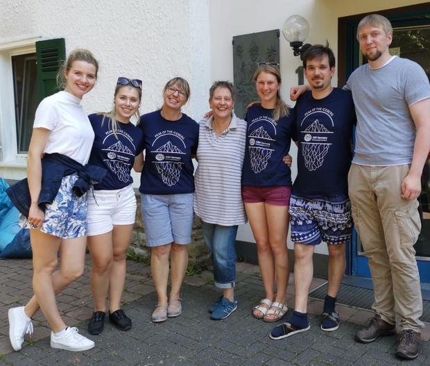 Staff und Helfer des Kölner StepUp 2019