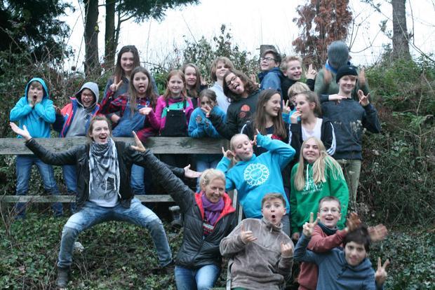 Eine Gruppe in einem Minicamp unserer Junioren