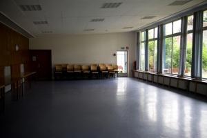 Die große Halle im Haupthaus